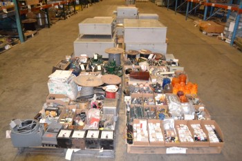 7 PALLETS OF ASSORTED ELECTRICAL
