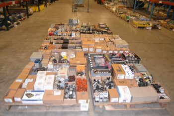 6 PALLETS OF ASSORTED ELECTRICAL