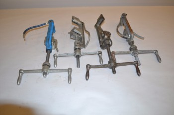 LOT OF 4 ASSORTED BAND-IT STRAPPING TOOLS