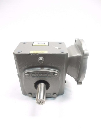 BOSTON GEAR 40:1 56C WORM GEAR REDUCER