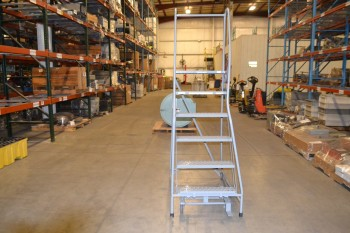 COTTERMAN ROLLING LADDER, 450 LB CAPACITY