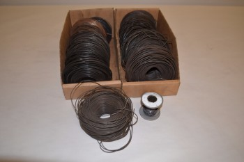 LOT OF 12 SPOOLS OF WIRE