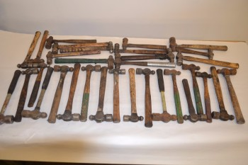 LOT OF ASSORTED BALL PEIN HAMMERS