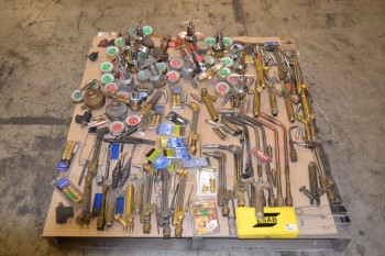 LOT OF ASSORTED WELDING EQUIPMENT