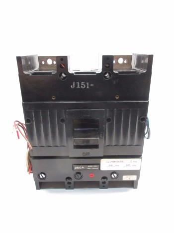 GENERAL ELECTRIC 250 AMP CIRCUIT BREAKER