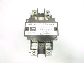 CUTLER HAMMER 200 HP 270 AMP SIZE 5 AC CONTACTOR