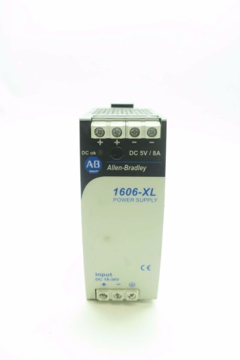 ALLEN BRADLEY 1606-XLDC40A 40 W 8 AMP POWER SUPPLY