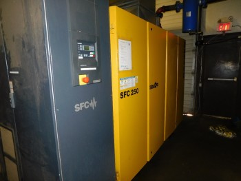 2010 Kaesar SFC  250 Air Compressor