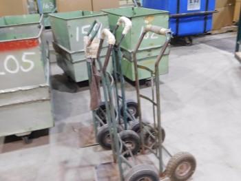 Misc Hand Trucks QTY 4