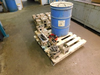 Mechanical Tucker Parts on pallet