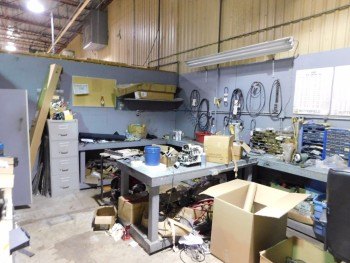 Fabrication Room Shop and all contents /No File Cab