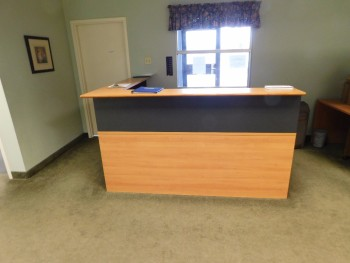 Front Reception Desk