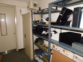 Supply Closet and tables