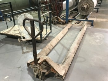 Loom Beam  hydraulic jack cart