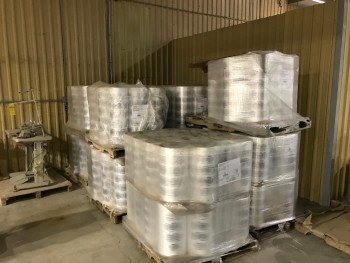 9 pallets of Shipping Wrap