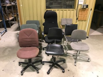 8 Misc Chairs