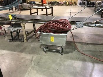 Tub cart with Air Hoses