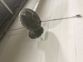 lot of 5 Wall Mounted Fans