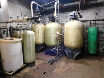 Brim Water Softener System (3) 2500 gal Tanks, with Composite System