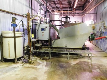 Volute Dehydrator 2006 With 4 Plainview Fiberglass Tanks