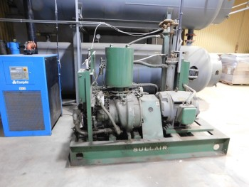 2002 Sullair Air Compressor 100hp