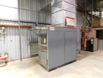 1998 Atlas Air Compressor 100 hp Copco   1998