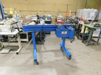 BIRCH Rail Machine with Merrow Sewing Head