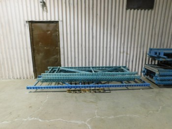 7 Misc Sections of Pallet Racking