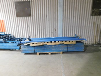 7 Sections of Pallet Racking