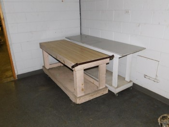 Rolling Tables QTY 2