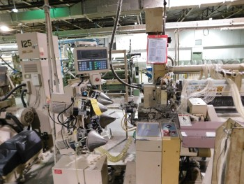 2002 Tsudakoma 230 cm ZAX Air Jet Looms with mechanical tuckers