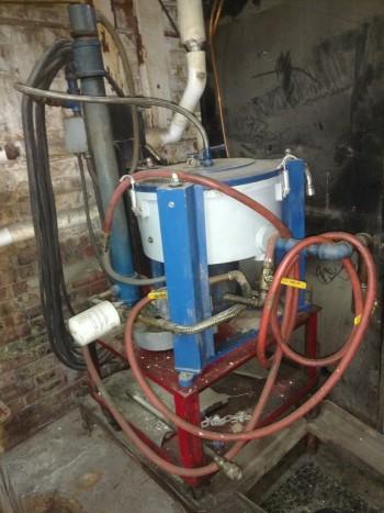 Lavin Lube oil centrifuge water separator