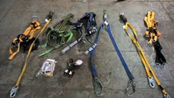 Safety Harness and Lanyards