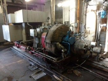 Elliot CYRPE 1500 KW Steam Turbine
