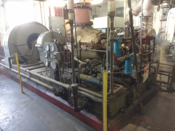 Turbodyne S4 1000Kw Steam Turbine