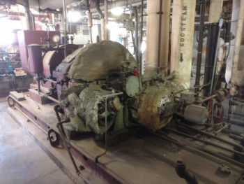 Elliot DYRPE 100KW Steam Turbine