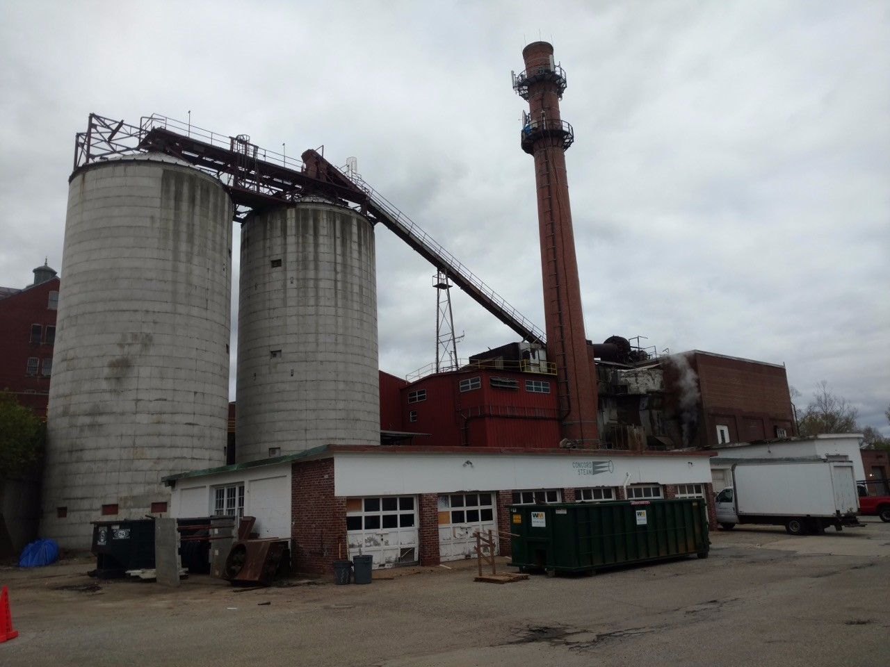 Redeployed Materials LLC for event Pioneering wood fired Combined Heat and Power(CHP) power plant