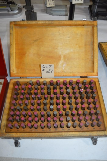 pin gage set