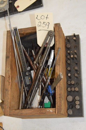 Box of assorted parts