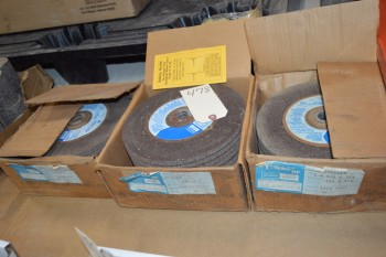 3 boxes of Grinding wheels