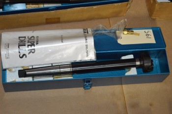 #4 Morse Taper Super Drill in Box
