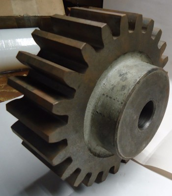LOT OF 3 Pitch Spur Gear, Plain Bore, Union Gear, 3G24, 24 teeth