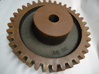 LOT OF 3 Pitch Spur Gear, Plain Bore, Union Gear, 3G36, 36 teeth