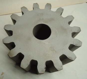 LOT OF 3 Pitch Spur Gear, Plain Bore, Union Gear, 3G15, 15 teeth