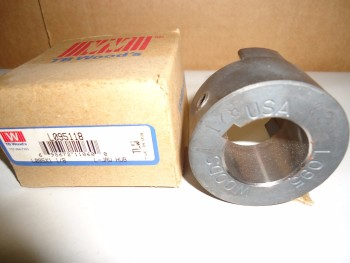 LOT OF L 95x1 1/8 1.125 JAW HUB