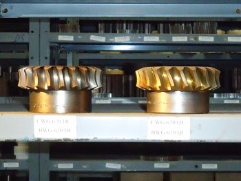 LOT OF 6 Pitch Bronze Worm Gear, BWG, Union Gear