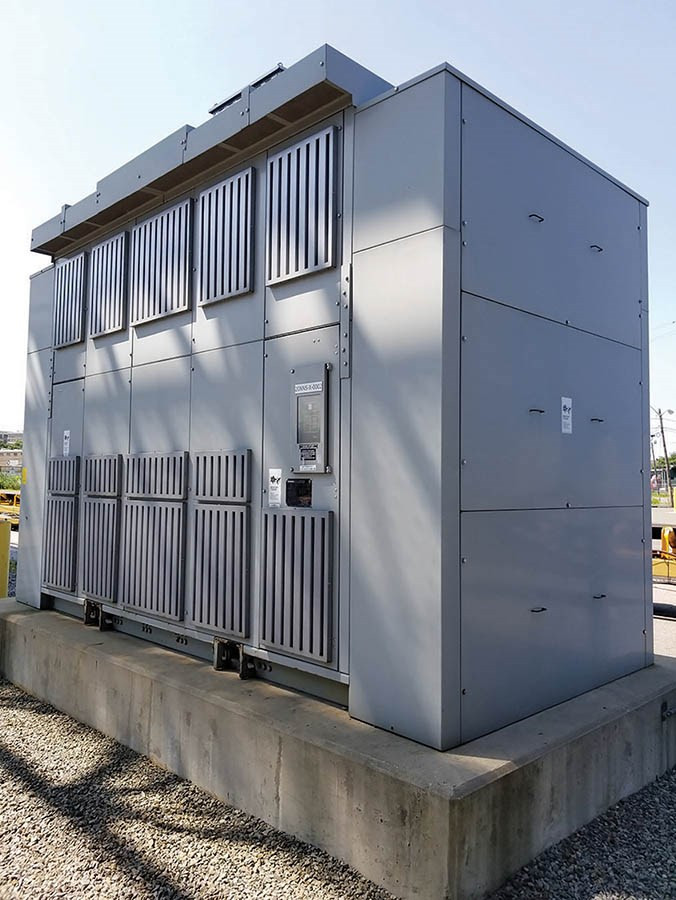 SIEMENS Dry Type Distribution Transformer Outdoor Cast-Coil Design 7500 KVA - AA