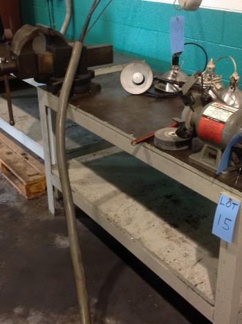 Steel Table w/ 6