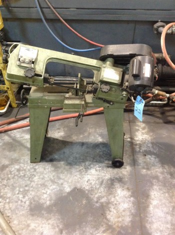 KBC Portable Horizontal Band Saw model 6-495-010