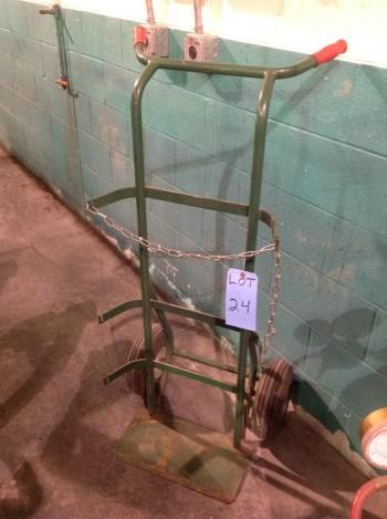 Portable Acetylene Torch Cart